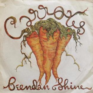 "Brendan Shine - Carrotts (7"") (Red Vinyl) (EX/G-)"